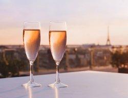 French Apéritif with Eiffel Tower Views