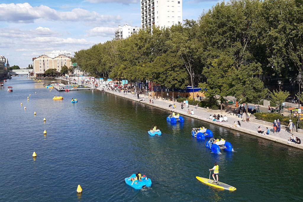 Bassin de la Villette - Paris 19