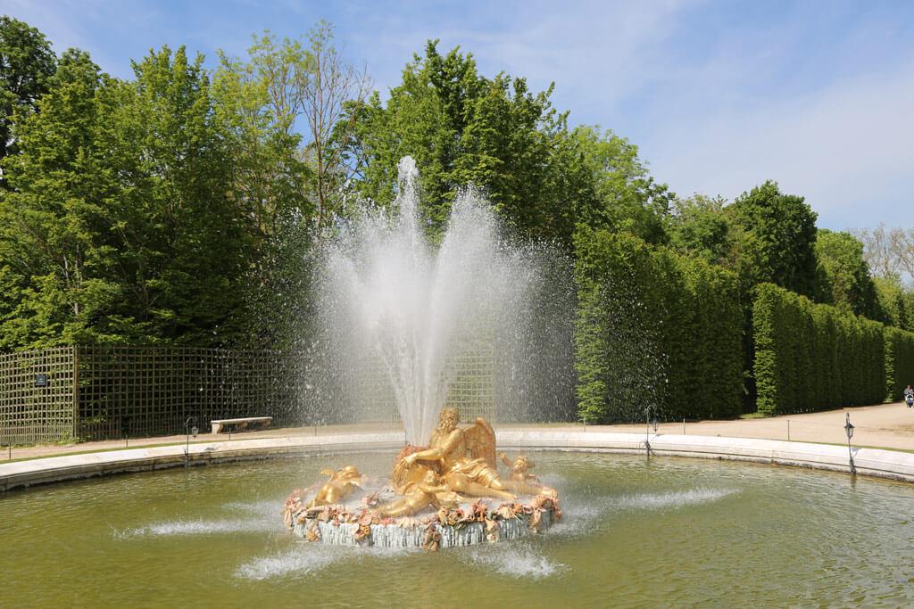 Baccus Fountain Versailles