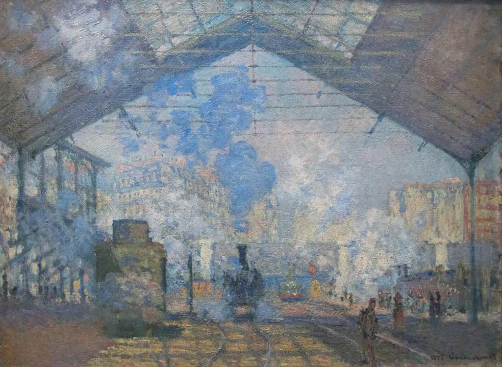 Gare Saint Lazare - Paris