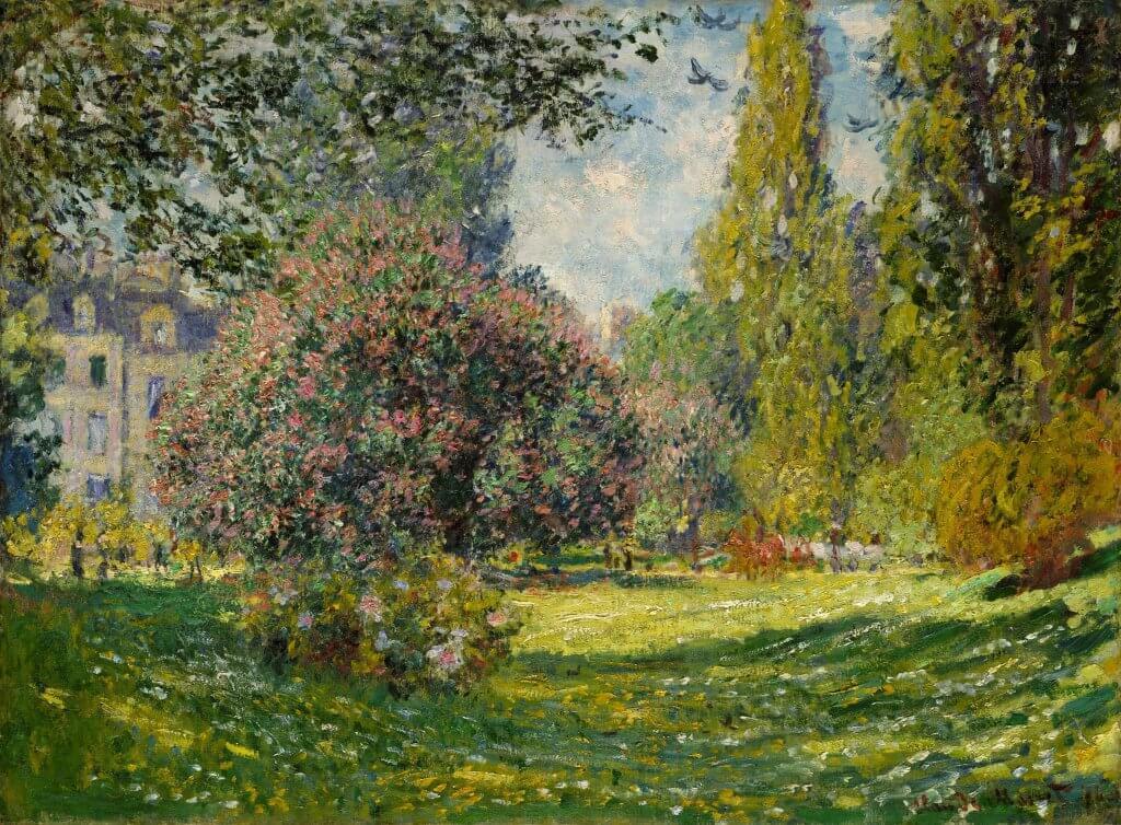 Parc Monceau - Monet