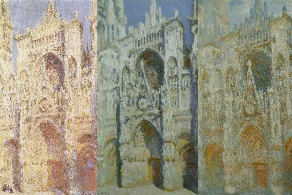 Rouen Cathedral Series - Monet