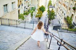 Stairs of Montmartre - Paris