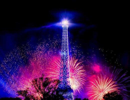 Eiffel Tower Fireworks