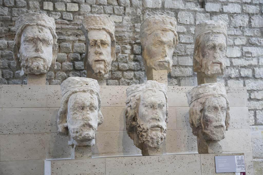 Kings of Judea Heads - Cluny Museum